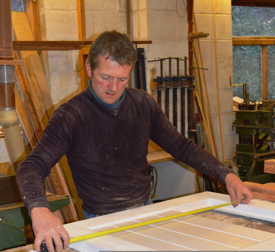 Exact precision is what's required to make a beautiful timber door.