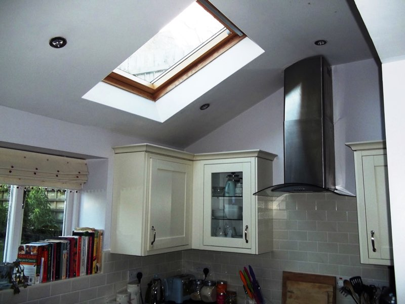 Kitchen with Velux